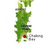 Chalong Bay Karte - Phuket Map