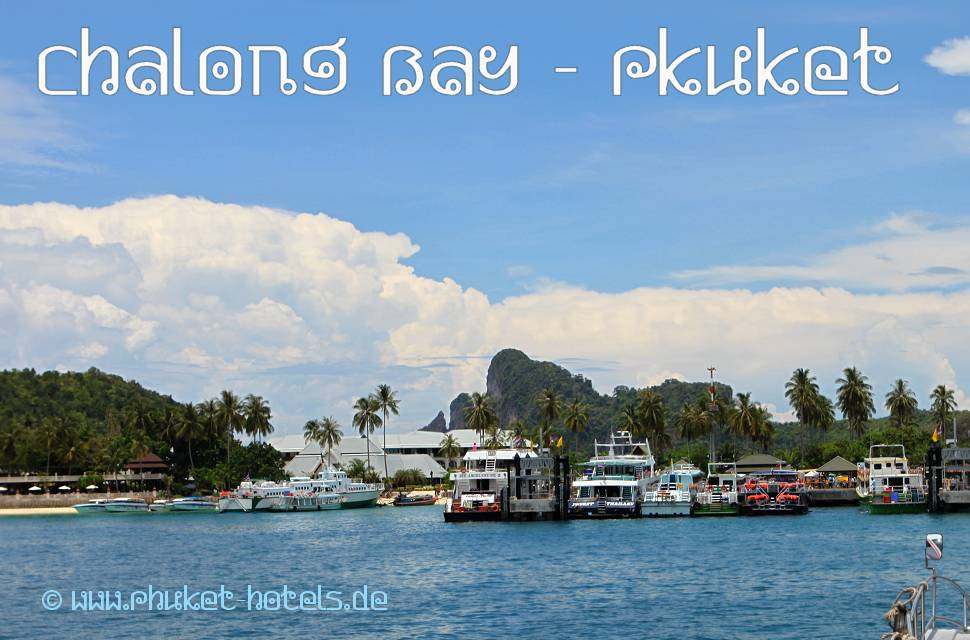 Chalong Bay in Phuket (Thailand)