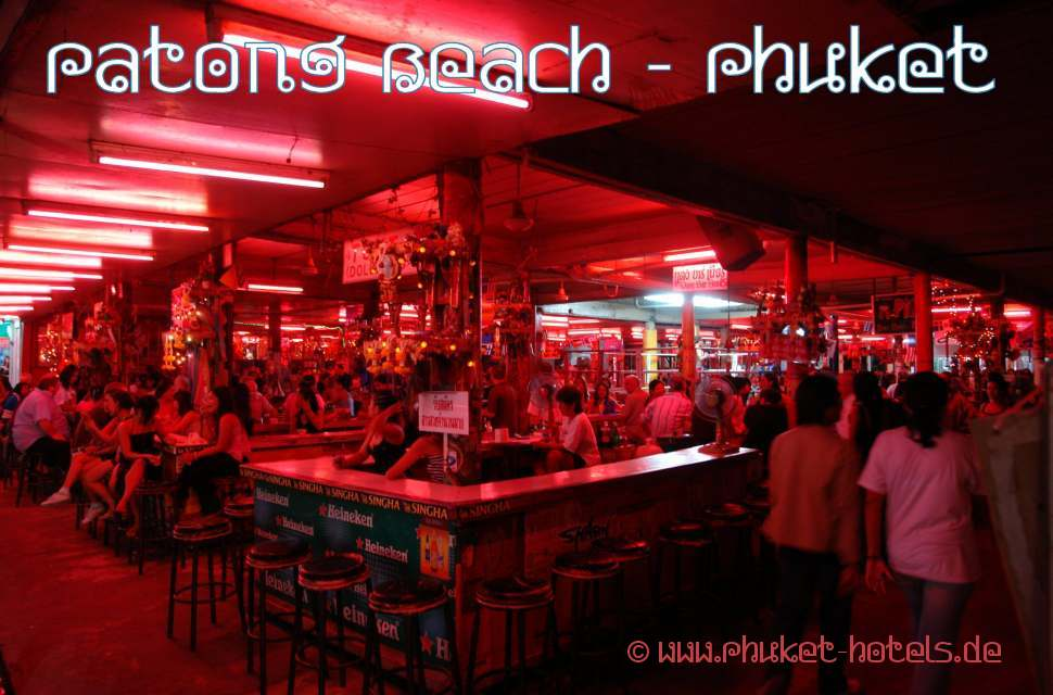 Patong Nightlife an den GoGo Bars in der Bangla Road