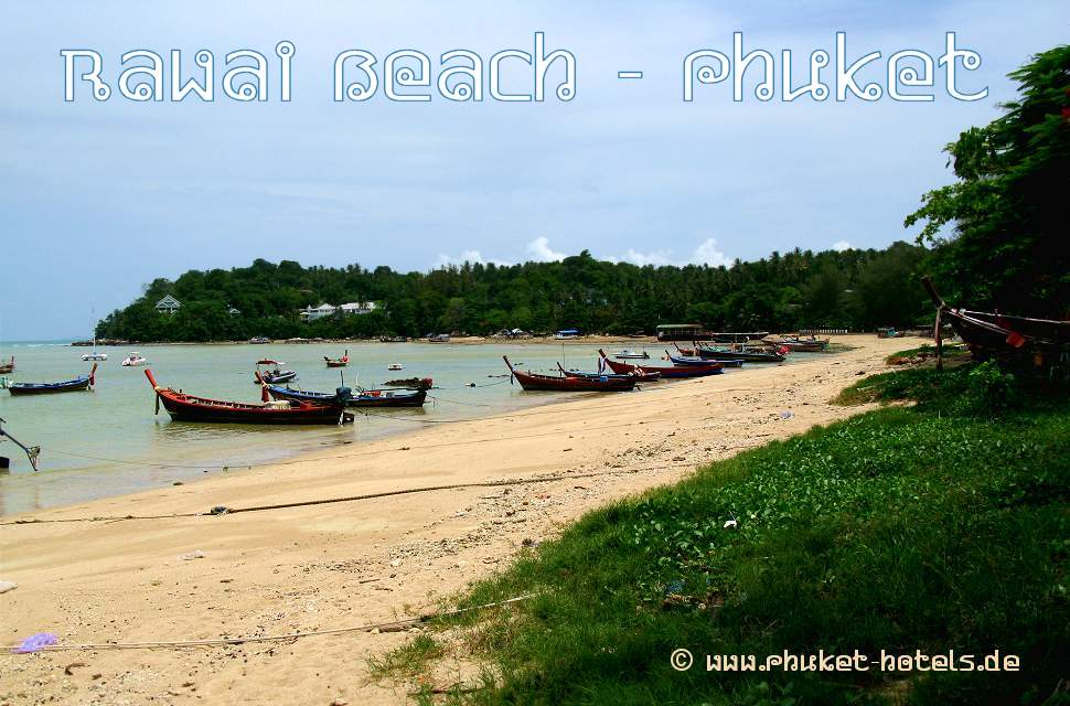 Rawai Beach in Phuket (Thailand)